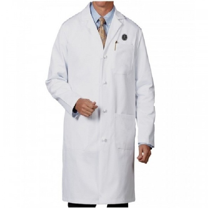 Men's Lab Coat With Cloth Knot Buttons | Work Hard Dress Right