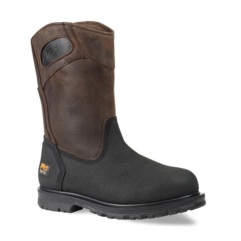 reflujo Mucho reunirse  Men's Timberland PRO® PowerWelt Wellington Steel Toe Work Boots – Work Hard  Dress Right
